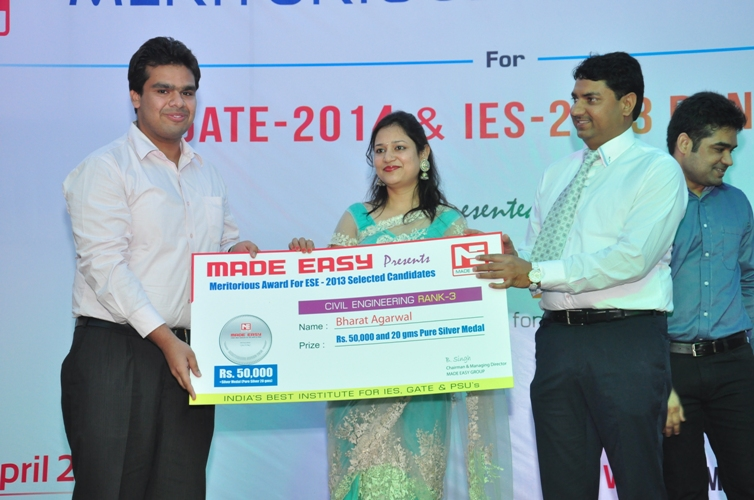 Bharat Aggarwal,IES Civil Engineering AIR-3