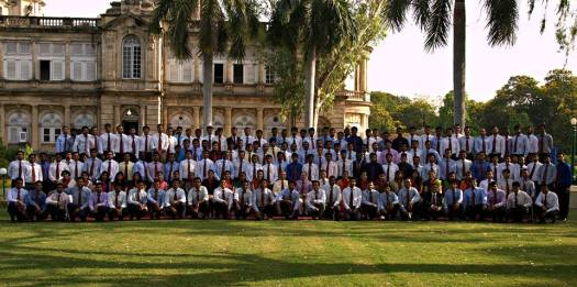 Complete Batch Of Probationers at NAIR