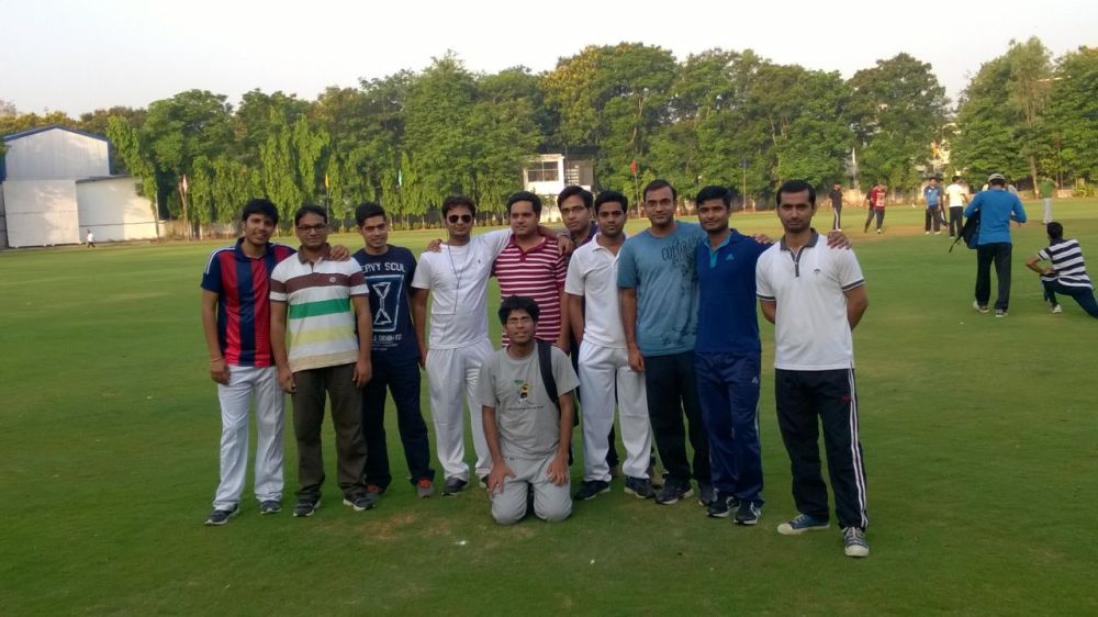 Probaioners' Cricket Team  at Divisional Groud